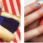Fourth of July Nail Art: Stars on Stripes Nails