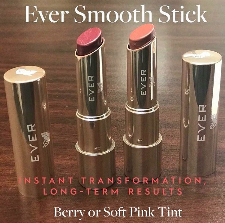 EVER Skin Smooth Stick Lip Tint Swatches