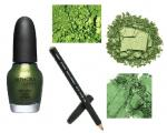 5 Wearable Late-Spring Green Shadows, Pigments and Polish