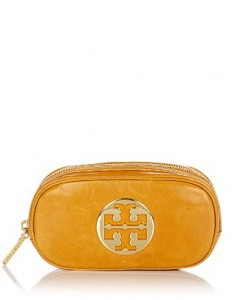 Tory Burch Suki Leather Cosmetic Case