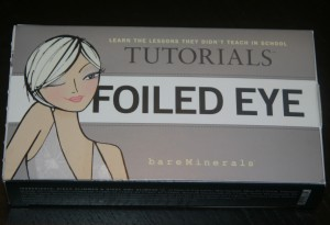 Bare Minerals Foiled Eye Tutorial