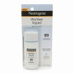 Neutrogena UltraSheer Liquid Daily Sunblock