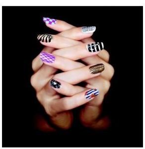 Sephora Opi nail prints
