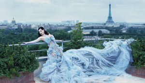 Dita Von Teese for Vogue