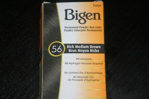 Bigen hair color