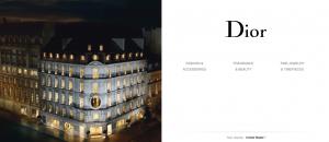 Christian Dior website