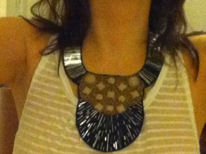 The bib necklace