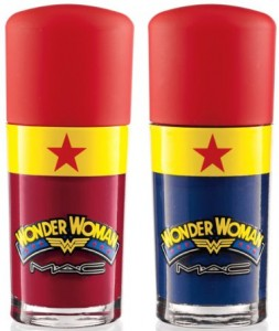 Mac Wonder Woman collection lipstick