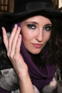 CND Nails at Catherine Malandrino