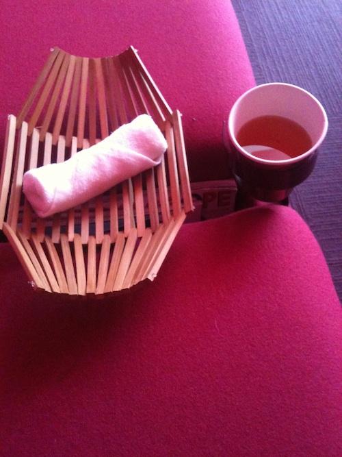 Tea at Yelo Spa New York City