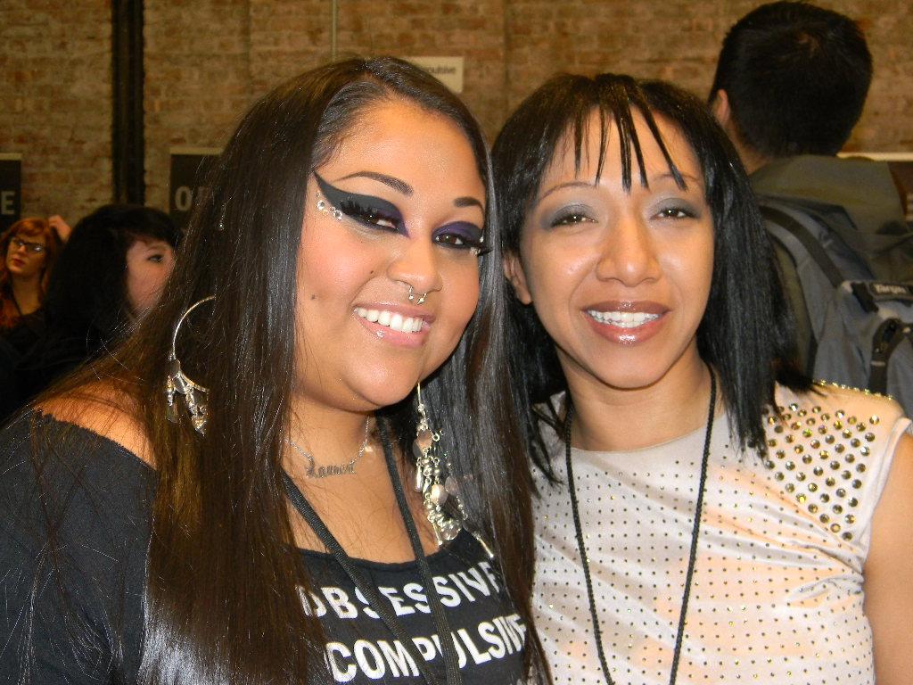 Queen of Blending and Nicole Dantzler at IMATS