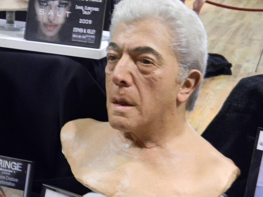 Special effect fx makeup for Sopranos prosthet