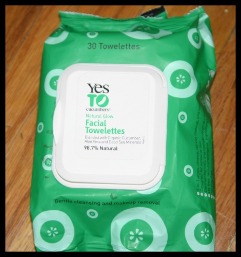 Yes to Carrots Natural Glow Facial Towelettes