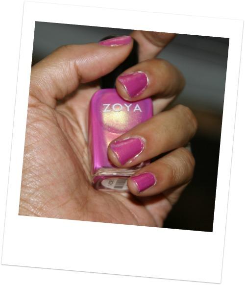 Zoya nail polish in reece swatch