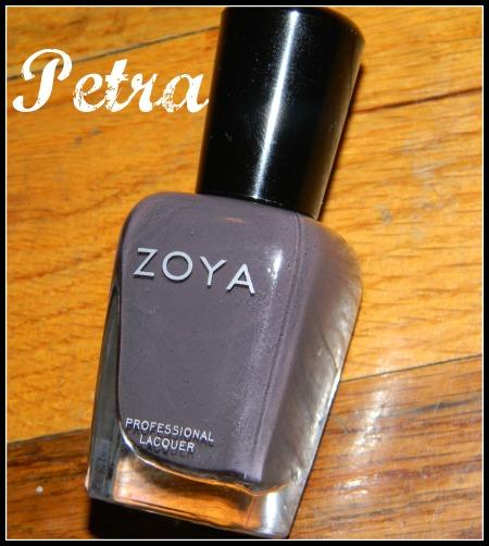 Zoya Fall 2011 nail polish in Petra