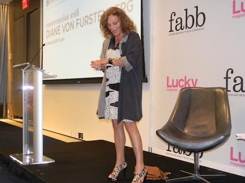 Diane Von Furstenberg Lucky Magazine keynote speaker