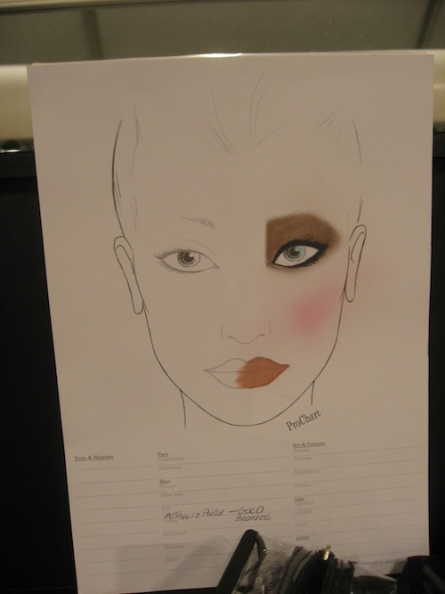 Mehron Makeup at Falguni and Shane SS 2012