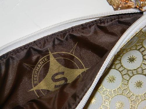 Stephanie Johnson Medium Flat pouch in Bollywood Camel