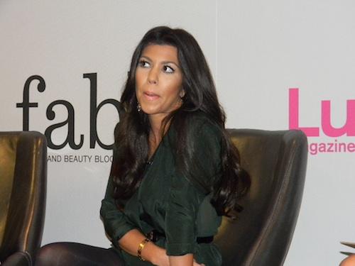 Kourtney Kardashian at Lucky FABB