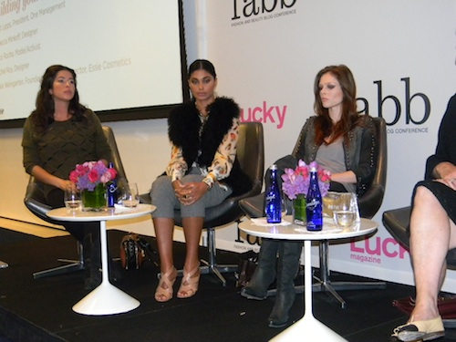 Rebecca Minkoff, Rachel Roy, Coco Rocha at Lucky FABB