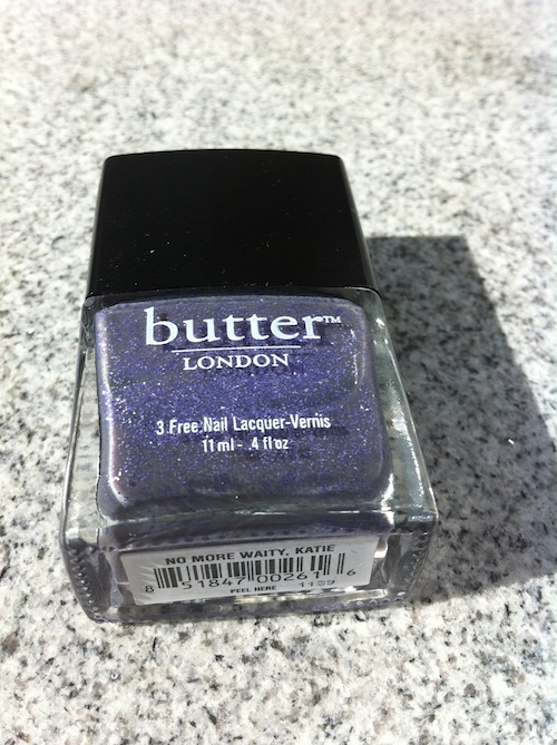 Butter London Nail Polish No More waity Katie swatch