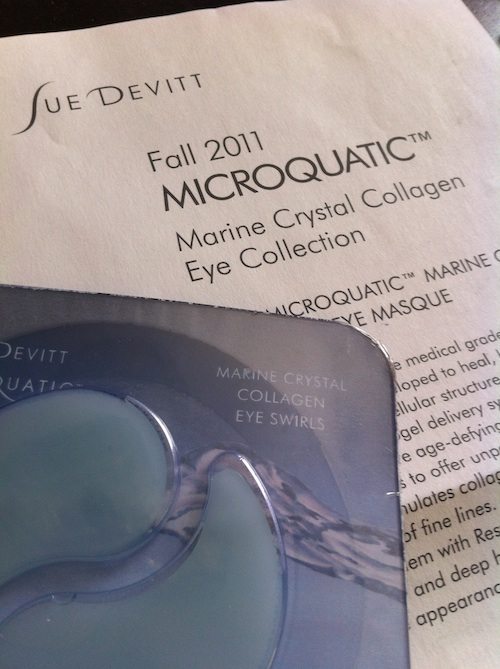 Sue Devitt Microquatic Marine Crystal Collagen Eye Masque