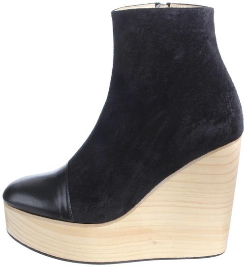 Millenium vegan wedge boots from Olsen Haus