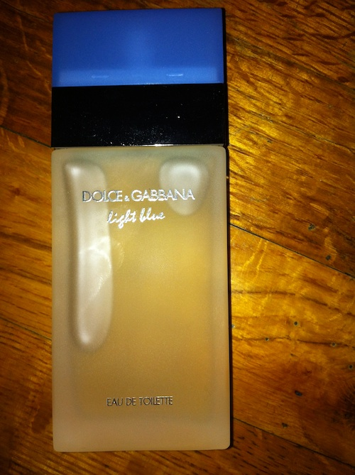 Dolce and Gabbana Light blue perfume for women