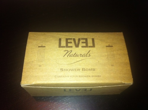 Level Naturals' Menthol & Eucalyptus Shower Bombs