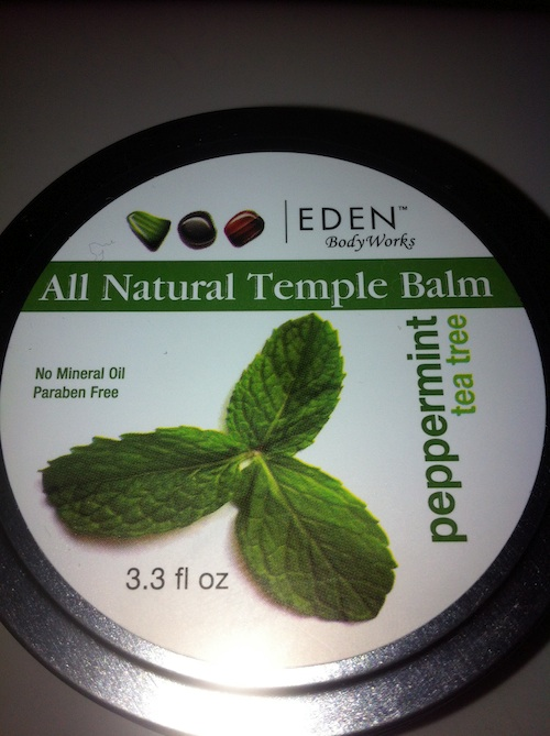 Eden Body Works All Natural Peppermint Temple Balm