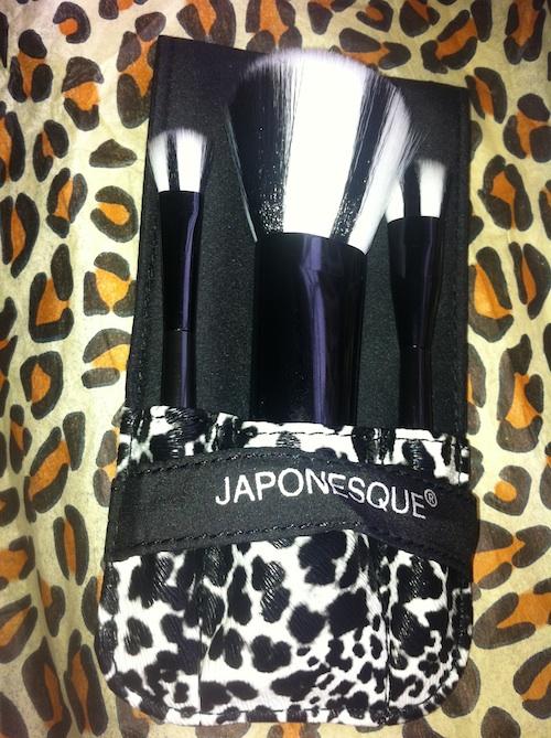 Japonesque cruelty free synthetic brush set
