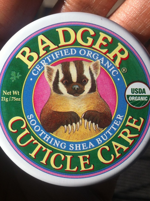 Badger Cuticle Soothing Shea Butter Cuticle Care