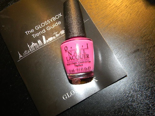 OPI Nail Polish, Kiss Meon My Tulips
