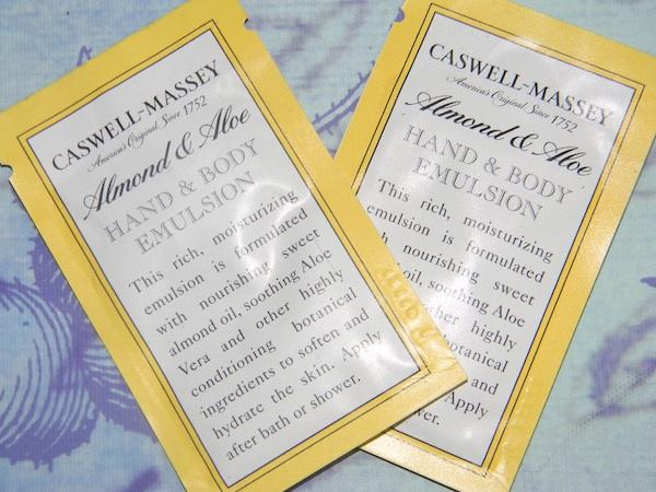 Caswell-Massey Almond  Aloe Hand & Body Emulsion