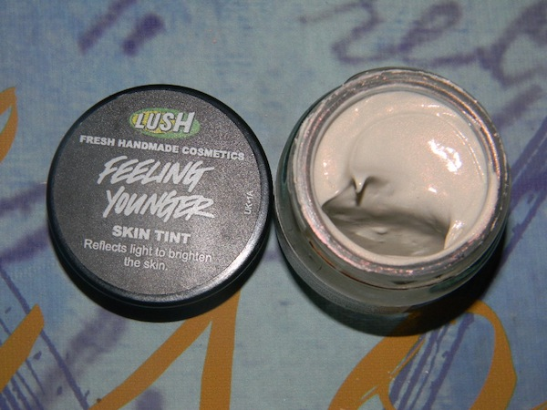LUSH Handmade cosmetics, new makeup Emotional Brilliance, skin tint feeling younfer. LUSH products are 100% vegetarian, 81% vegan, and 70% preservative-free.