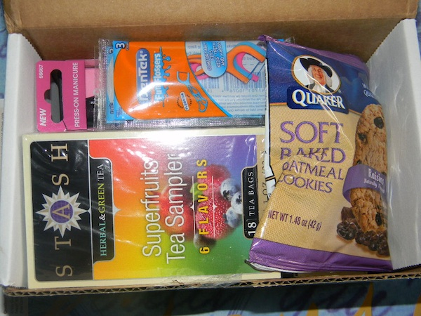 Influenster Mother's Day VoxBox Review and contents