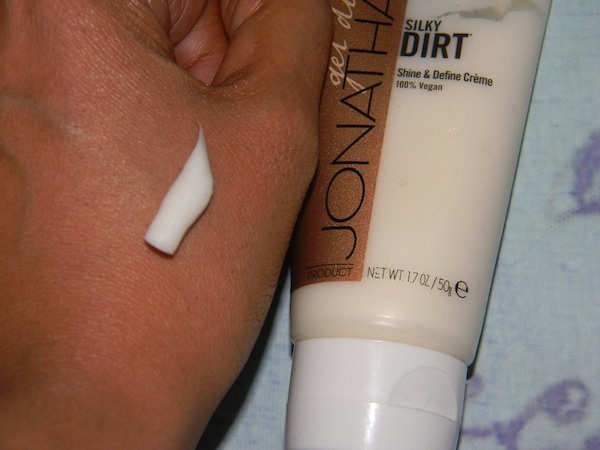 Swatch of Jonathan Silky Dirt Shine & Define Creme