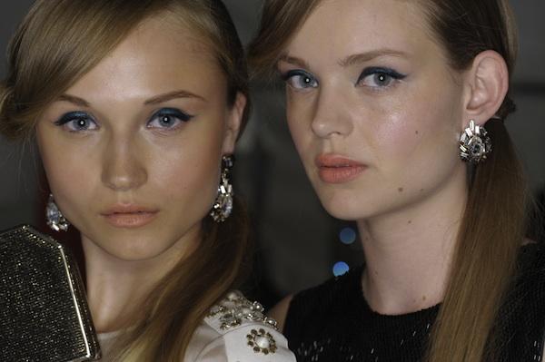 Get The Look: Laura Mercier at New York Fashion Week Spring/Summer 2013 – Jenny Packham.