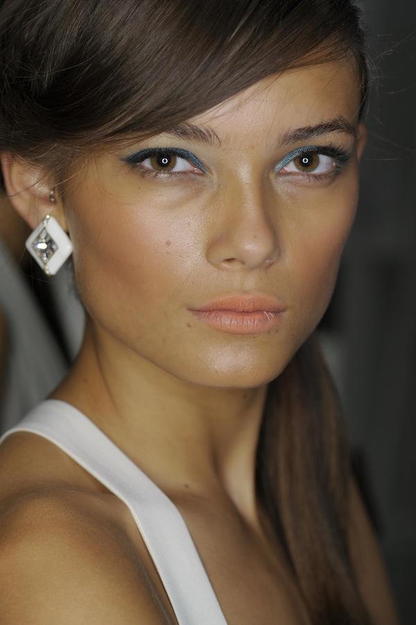 Jenny Packham makeup for Spring Summer 2013 with Laura Mercier