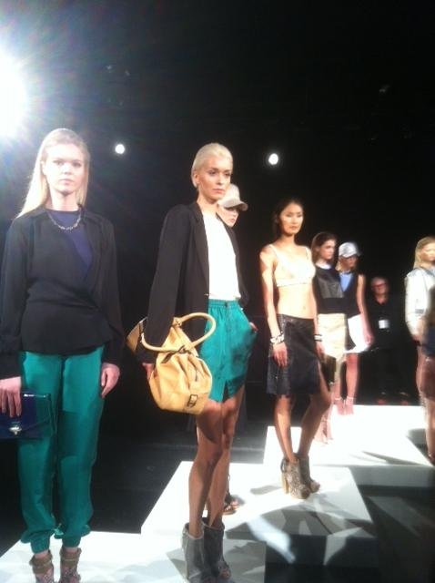 Monika Chiang Presentation at Mercedes-Benz Fashion Week SS 2013