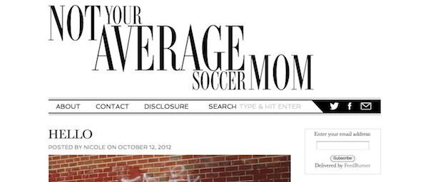 Not Your Average Soccer Mom