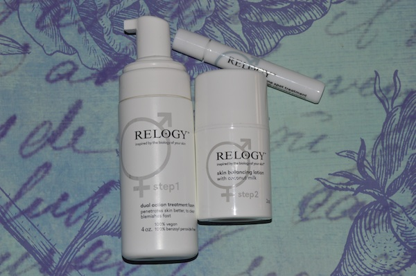 Relogy skin care, cruelty free and vegan acne treatment