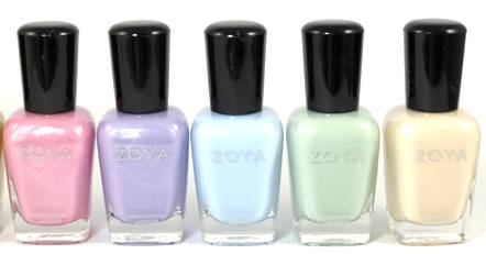 Zoya Lovely Spring 2013 Polish Collection