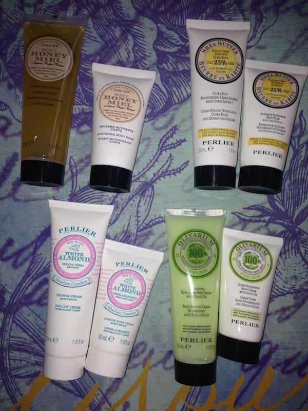 Perlier Shower and Body Cream Travel Kit
