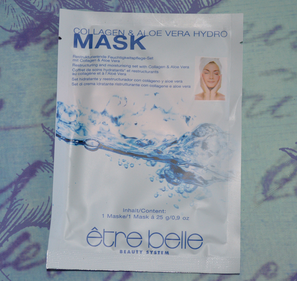 Review: être belle Collagen & Aloe Vera Hydro Mask
