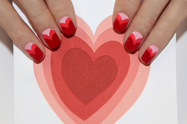Sweetheart Nail Art from Jin Soon Choi